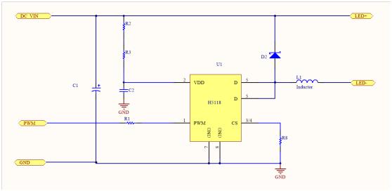 支持dc12-40v输入,内置专门的调光电路,65536级辉度调光,脉冲波形最小
